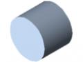 Welle D25, blank