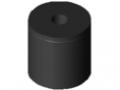 Anschlagpuffer M8 D30x30, schwarz