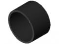 Rohr D32 KU, schwarz