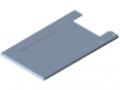 Drawer Unit, Mounting Frame, grey similar to RAL 7042