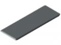 Automatik-Winkel-Abdeckkappe 8 80x80, grau ähnlich RAL 7042