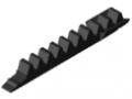 Zahnstange 8 Segment 80 K, schwarz