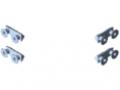 Befestigungssatz für Leit-Eckschutz 8 St 160x160x80