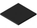 Polyethylen UHMW 8mm Regenerat, schwarz ähnlich RAL 9004